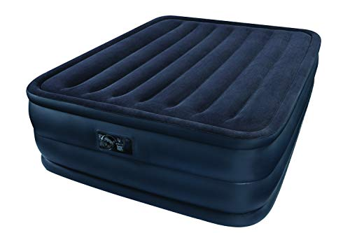 Intex Essential Rest Luftbett - Queen - 152 x 203 x 51 cm - Mit eingebaute elektrische Pumpe
