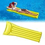 DEEPOW Wasser Hängematte-Aufblasbar Schwimmring Schwimmende Reihe Pool Luftmatratze Matratze Matratzen Strandmatte...