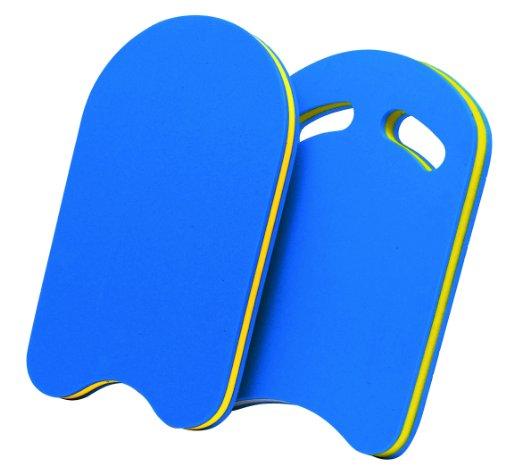 Schwimmbrett-in-blau-mit-Griff