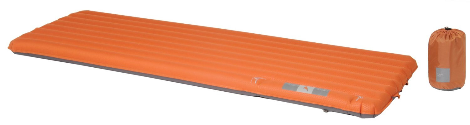 Camping Luftmatratze Exped Synmat 7 LW in orange